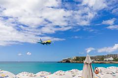 St Maarten (KennardP) Tags: stmartin caribbeanisland aeroplane beach airport princessjulianainternationalairport saintmaarten mahobeach vacation canon5dmarkiv 5dmarkiv ef1635mmf4lisusm canonef1635mmf4lis stmaarten