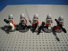 Żołnierze (Śląski Hutas) Tags: lego bricks minifig figures soldiers military polska poland scifi futuristic
