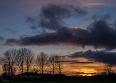 Sunset at Hele ner Bradninch
