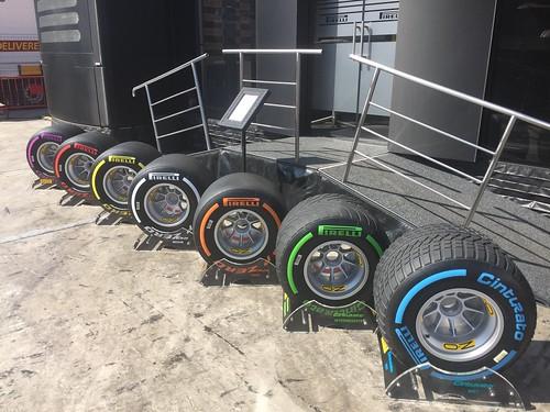 Pirelli tyres for 2017