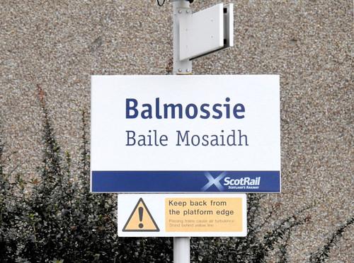 Balmossie Railway Station