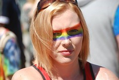 "Rainbow Faces - Plymouth Pride 2015 • <a style=""font-size:0.8em;"" href=""http://www.flickr.com/photos/66700933@N06/20621359282/"" target=""_blank"">View on Flickr</a>"