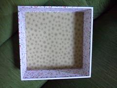 Caixa Romântica (Artices da Zappa - Artesanatos feitos com Amor.) Tags: caixa tecido algodão mmdf multiuso encapada