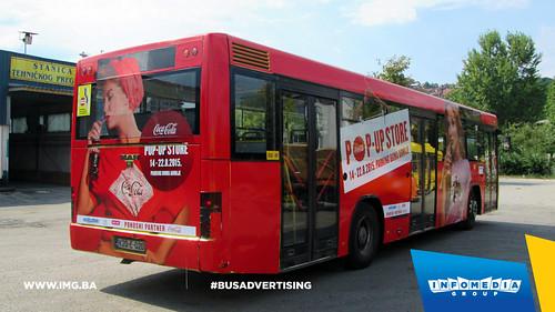 Info Media Group - Coca-Cola pop up store, BUS Outdoor Advertising, Sarajevo 08-2015 (4)