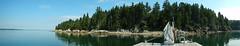 Dog-days dock panaroma (jd.willson) Tags: ocean beach bay maine penobscot panaroma islesboro