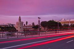 The Bridge (jaocana76) Tags: urban sevilla seville urbana torredeloro largaexposicion spal roguadalquivir no8do hispalis canon1635 isbiliya canoneos7d puentedesantelmo buryaldahab juanantonioocaa jaocana76