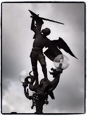 Archangel Michael (1elf12) Tags: angel michael belgium engel gent archangel belgien erzengel omot cmwdblackwhite