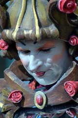 Living statues (eaos1) Tags: people colors make up living model faces emotion statues