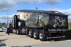 Scania T Cab reg 03 G 16949 Rear View (erfmike51) Tags: lorry artic scaniatcab bulktipper gatheringofthegriffin2015