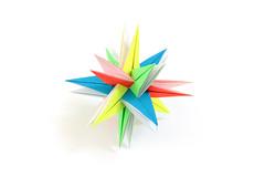 Андрей, с днём рождения! (Vladimir Phrolov) Tags: origami modular paperfolding planar vladimirfrolov