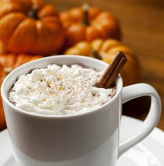 Pumpkin-Spice-Coffee (rbgmedia) Tags: wood autumn orange brown white hot fall coffee horizontal pumpkin dessert beige warm drink sweet coffeecup cinnamon spice tan cream nobody whippedcream gourmet gourd dairy latte caffeine cappuccino expresso woodgrain saucer topping garnish selectivefocus cinnamonstick
