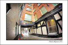 LEATHER LANE FROM OTHER SIDE (DEZ 2) Tags: liverpool hdr leatherlane samyang 8mmfisheye