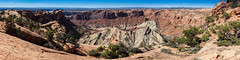 Canyonlands National Park, UT-Island in the Sky; Upheaval Dome Panorama (Russell J Bennett) Tags: usa utah unitedstates moab