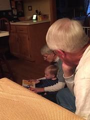 "Paul Reads with Grandma and Grandpa Morton • <a style=""font-size:0.8em;"" href=""http://www.flickr.com/photos/109120354@N07/22597729503/"" target=""_blank"">View on Flickr</a>"