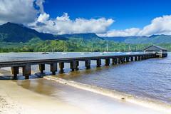 Good Morning Hanalei (DSC1132) (DJOBurton) Tags: hawaii kauai hanaleipier hanalei