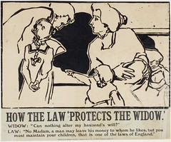 Suffrage campaigning: How The Law Protects The Widow1909