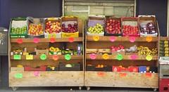 fresh fruit (byronv2) Tags: shop fruit scotland stand edinburgh stall shelf shelves grocer tollcross broughamstreet greengrocer edimbourg fruitshop