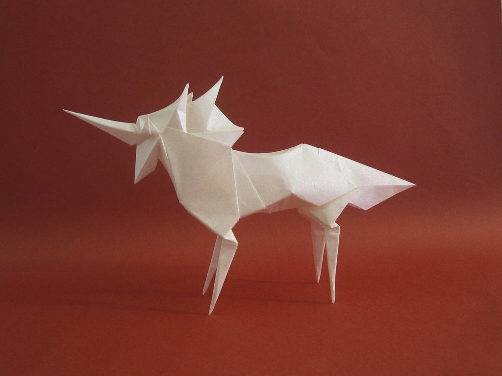 Licorne Tetsuya Gotani Tags Origami Unicorn