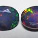 Black opal (Stayish Mine, Wollo Province, Ethiopia) 2
