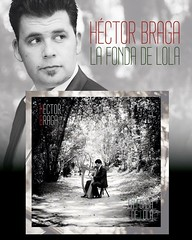 """Cartel promocional del nuevo disco #lafondadelola #hectorbraga #hectorbragavozyharpa <a style=""""margin-left:10px; font-size:0.8em;"""" href=""""http://www.flickr.com/photos/60002574@N04/23705854721/"""" target=""""_blank"""">@flickr</a>"""