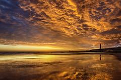 Seaburn, Sunderland (DM Allan) Tags: beach sunrise dawn golden coast solstice sunderland seaburn wearside