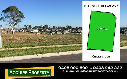 53 John Hillas Avenue, Kellyville NSW