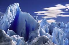 between ice towers (berny-s) Tags: peritomoreno glacier glaciar ice blue patagonia argentina