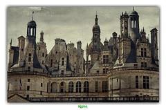 CHÂTEAU DE CHAMBORD (2) (régisa) Tags: chambord castle château tower tour texture
