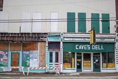 Caves (ptmarctm ©) Tags: caves deli pizza decay urban restaurant old construction rundown brocton ny wny 716 portland new york nikon d90
