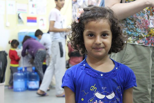 A young refugee from Iraq