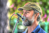 At The Mike (swong95765) Tags: guy man singer mic microphone bokeh cap beard