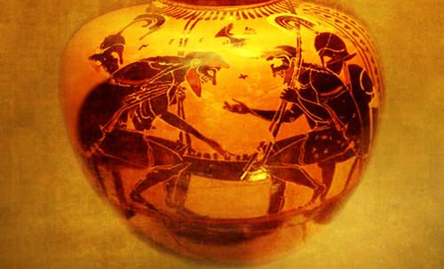 "Petteia - Ludus Latrunculorum  / Iconografía de las civilizaciones helenolatinas • <a style=""font-size:0.8em;"" href=""http://www.flickr.com/photos/30735181@N00/31678496984/"" target=""_blank"">View on Flickr</a>"