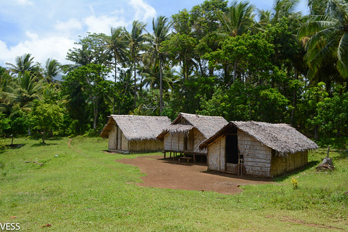 typical village in the Banks island