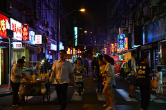 Shanghai - Guangxi Road (cnmark) Tags: china shanghai huangpu district guangxi road food street alley side narrow people gasse strase night nacht nachtaufnahme noche nuit notte noite 上海 中国 黄埔区 广西路 ©allrightsreserved