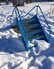 The Little Blue Slide.  Helena,Montana (montanatom1950) Tags: helena montana helenamontana playground