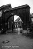 Altes Anwesen (Bernsteindrache7) Tags: art sony alpha 100 build metal stone street city house outdoor black white