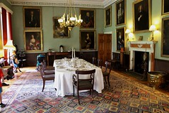 The Dining room in Killerton House. (Eddie Crutchley) Tags: europe england devon nationaltrust mansion statelyhome interior diningroom