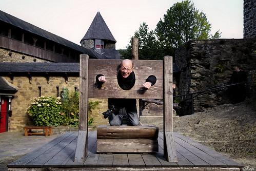 Klaus auf Schloss Burg