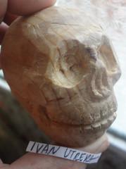craneo tallado en madera (ivanutrera) Tags: craneo tallado talladoenmadera madera wood wooden skull skeleton calavera calaca