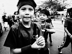Street Parade (Meljoe San Diego) Tags: meljoesandiego ricoh ricohgr gr streetphotography street parade blackwhite people candid