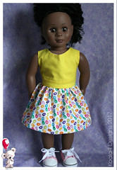 Desiree - Our Generation (Koala-T Designs - Carly & Reese) Tags: kottoncandy perfectpartydress americangirldoll handmade dollclothing