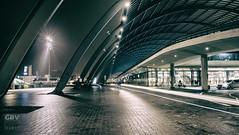 Central Station  - 1 (Boudewijn Vermeulen ) Tags: amsterdam centraalstation architecture nachtopname night nightlife publ railways station trains transport