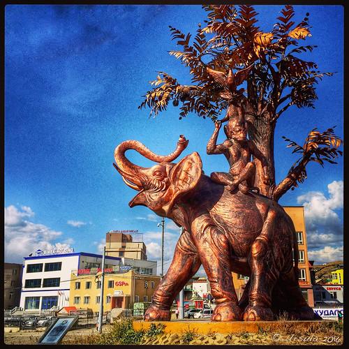 Sculpture - Ulaanbaatar 5733
