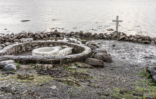 "A HOLY WELL IN A TIDAL ZONE ""ST. AUGUSTINE'S HOLLY WELL [LOUGH ATALIA ROAD IN GALWAY]REF-107236"