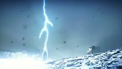 Mad Max lightning strike