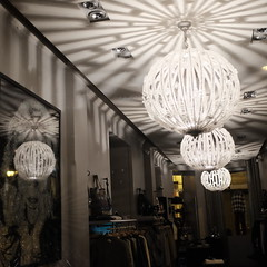 The fashionable ceiling (jmvnoos in Paris) Tags: light paris france fashion square fuji shadows lumire ceiling fujifilm mode plafond carr ombres fashionable carrs carre carres jmvnoos visionqualitygroup x100t