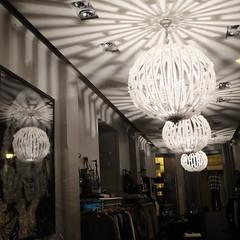 The fashionable ceiling (jmvnoos in Paris) Tags: light paris france fashion square fuji shadows lumière ceiling fujifilm mode plafond carré ombres fashionable carrés carrée carrées jmvnoos visionqualitygroup x100t