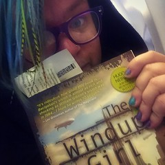 Phew. Proof I survived @dbfestival and made it on the plane home. Now to read this book, or at least try before passing out. #zzz #ravecation #windupgirl (ClevrCat) Tags: home plane out this book or before it read made proof passing try now least zzz phew survived i windupgirl dbfestival instagram ifttt ravecation