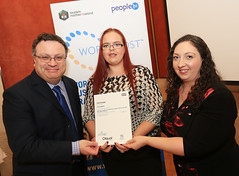 Aishling Beattie from Robinsons Catering at the WorldHost Celebration and Certificate Presentation