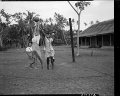 Basketball in Samoa, 1949